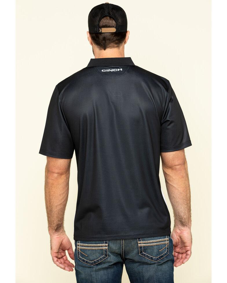 Cinch Men's Arena Flex Color Blocked Striped Short Sleeve Polo Shirt , Multi, hi-res
