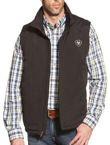 Ariat Men's Team Vest, Black, hi-res