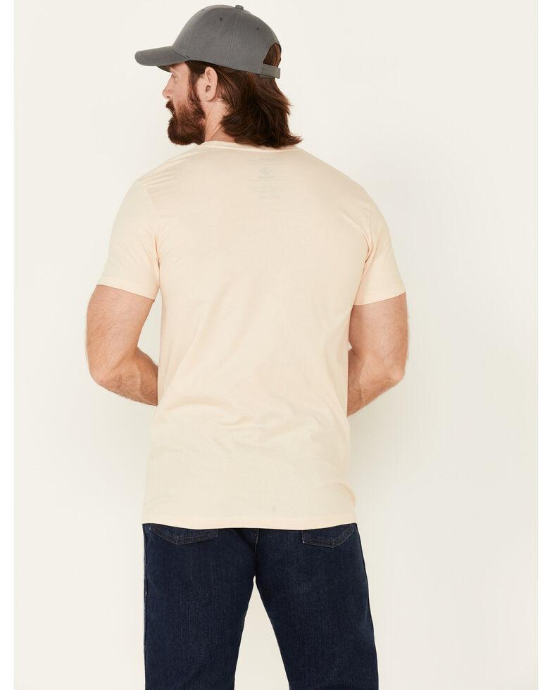 National Park Foundation Men's Gold Yosemite Park Graphic Short Sleeve T-Shirt , Gold, hi-res