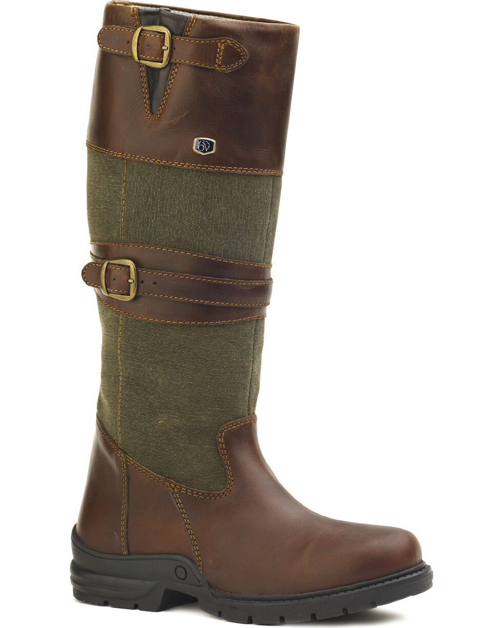 Ovation Women's Cameron Country Boots, Brown, hi-res