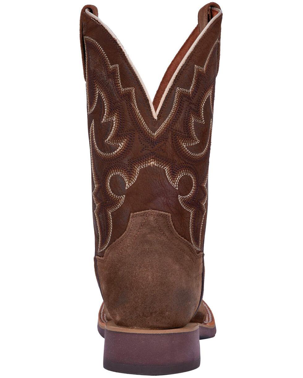 Dan Post Men's Davis Leather Western Boots - Square Toe, Brown, hi-res