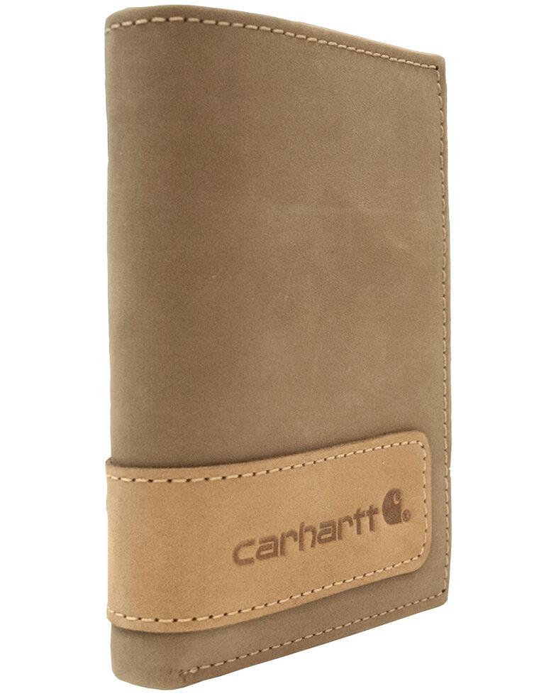 Carhartt Men's Trifold Wallet, Brown, hi-res