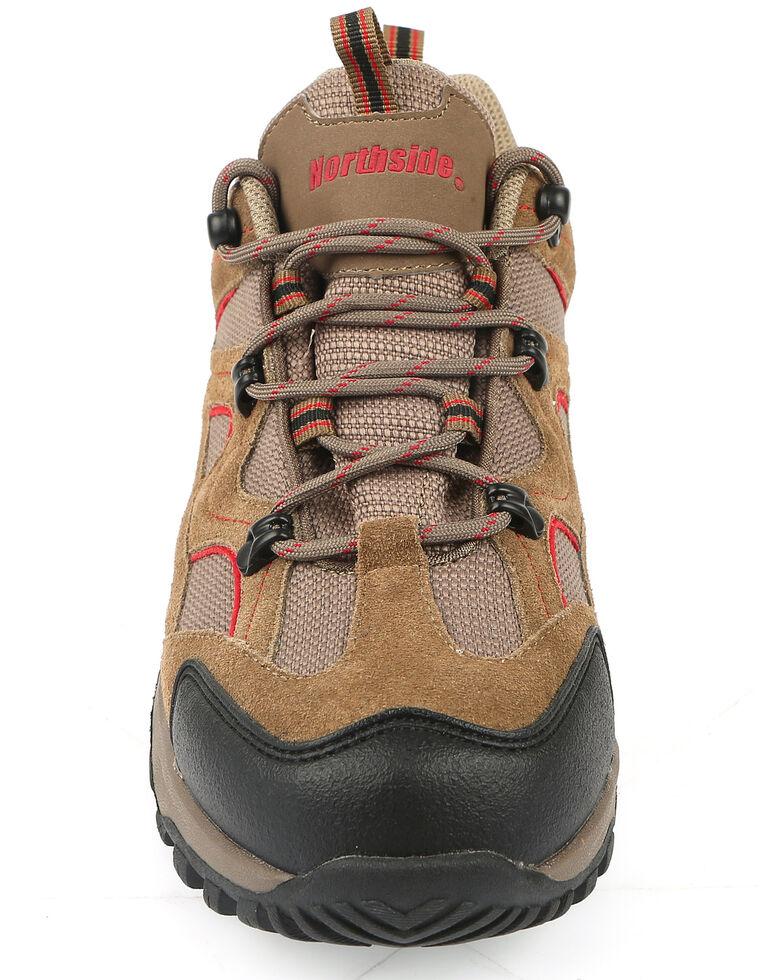 Northside Men's Snohomish Waterproof Hiking Shoes - Soft Toe, Chilli, hi-res