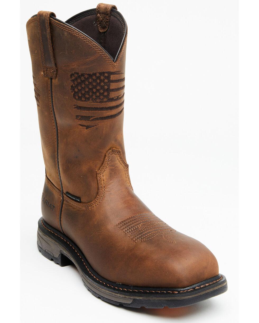 10034683 Composite Toe Ariat Men/'s Liberty Workhog Western Work Boot
