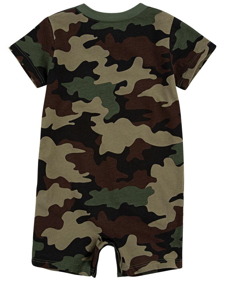 Levi's Infant Boys' Camo Print Short Sleeve Romper , Camouflage, hi-res