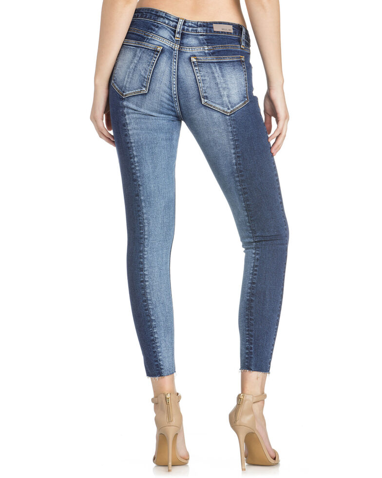 Miss Me Women s Contrasting Ankle Skinny Jeans - Country Outfitter 8afde5e5d