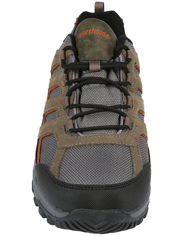 Northside Men's Gresham Waterproof Hiking Shoes - Soft Toe, Olive, hi-res