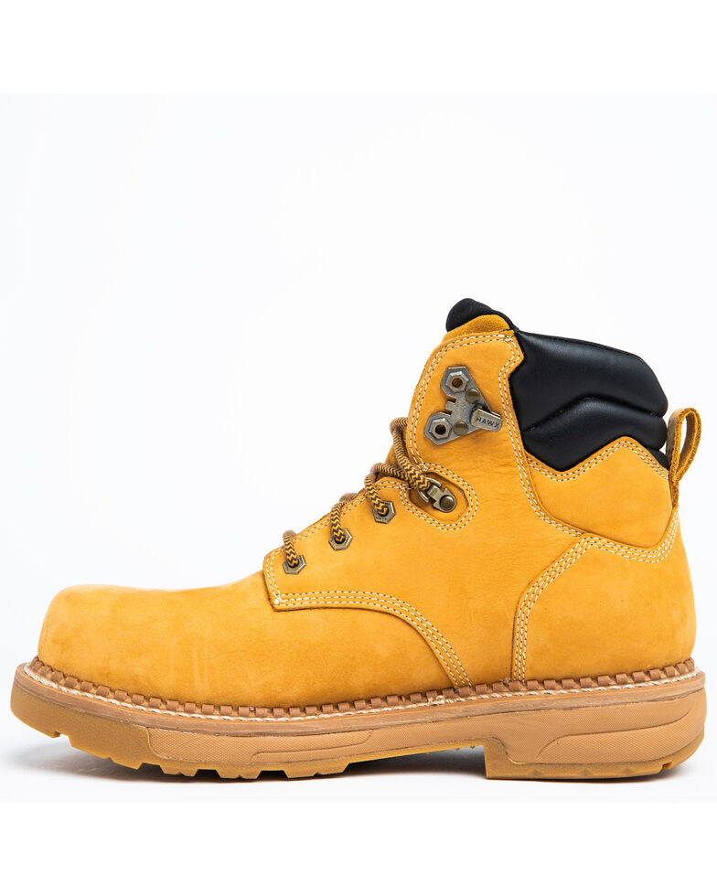 Hawx Men's Wheat Crew Chief Work Boots - Composite Toe, Wheat, hi-res