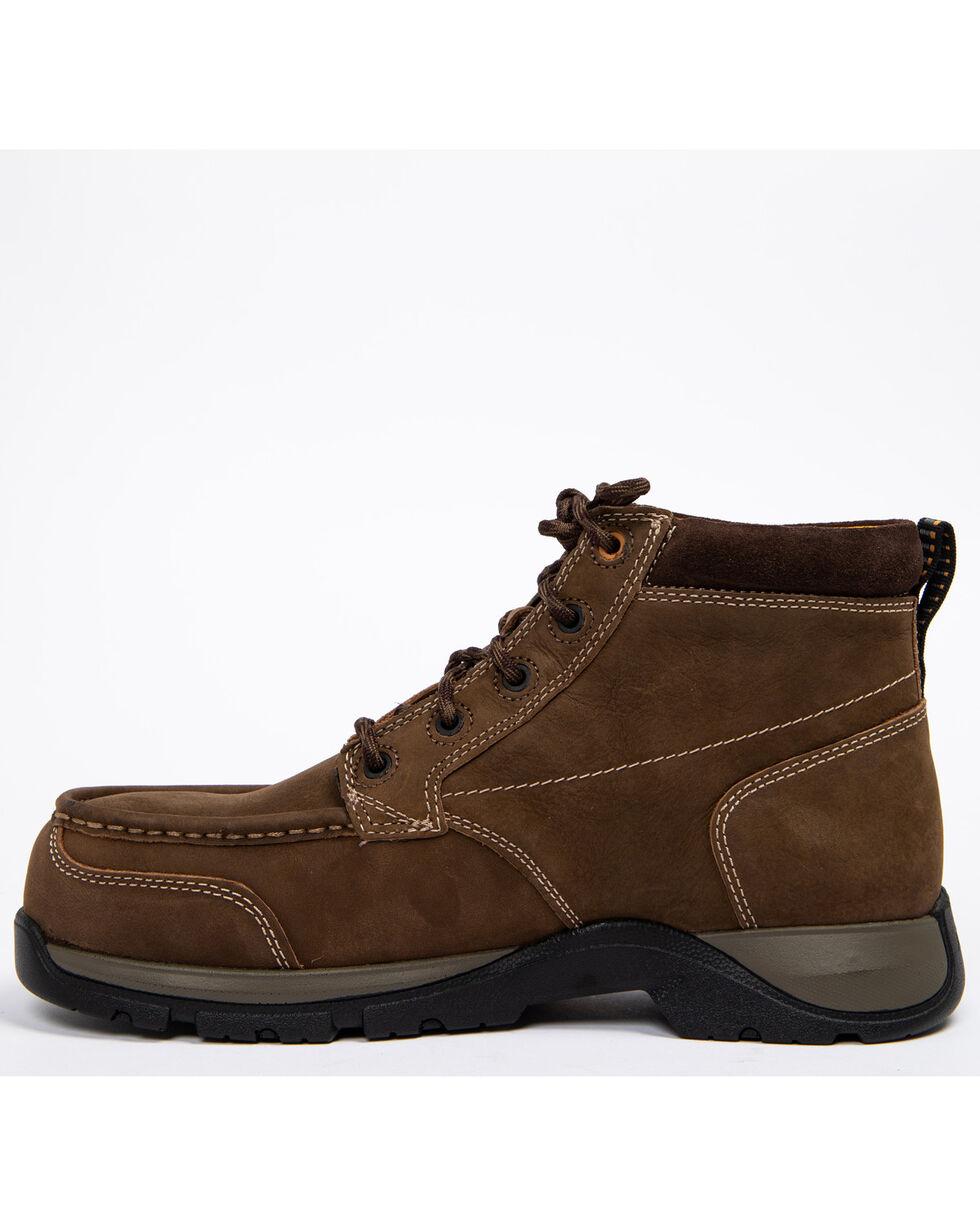 Ariat Men's Brown Edge LTE Chukka Boots - Composite Toe , Dark Brown, hi-res
