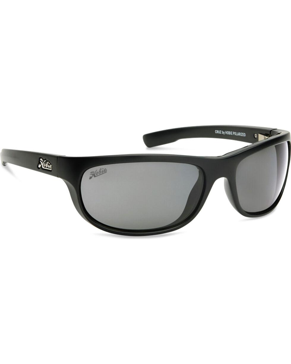 Hobie Men's Satin Black Polarized Cruz Sunglasses  , Black, hi-res