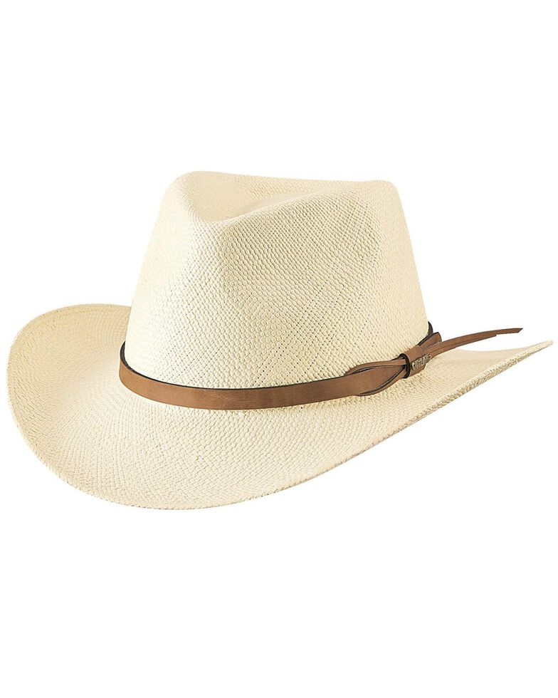 Bullhide Women's Alpine Straw Hat, Natural, hi-res