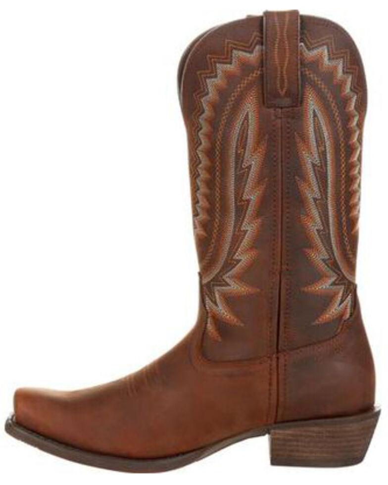 Durango Men's Rebel Frontier Western Boots - Snip Toe, Tan, hi-res