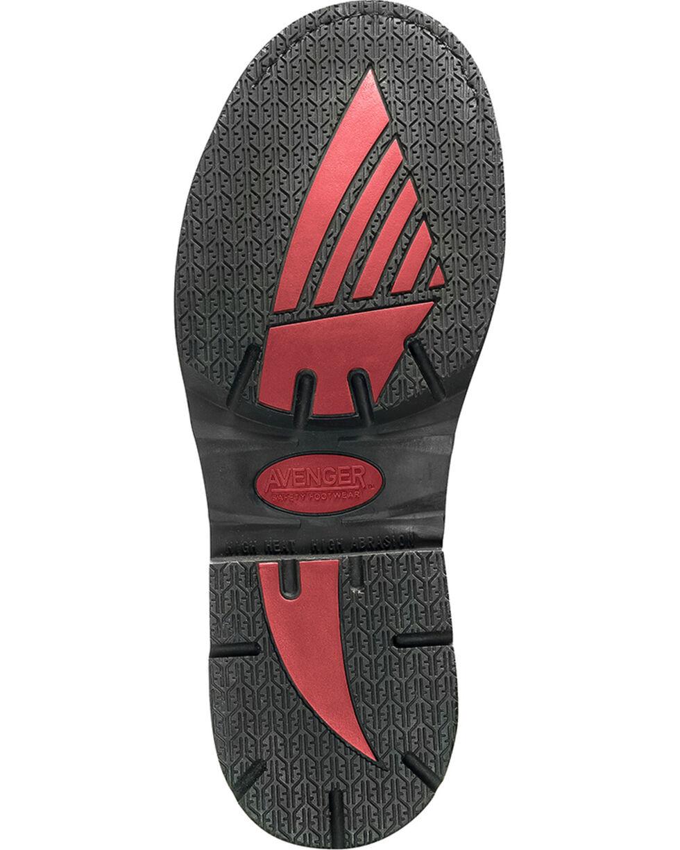 Avenger Men's Waterproof MetGuard Work Boots - Composite Toe, Brown, hi-res
