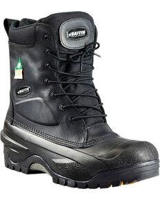 Baffin Men's Black Workhorse Safety Boots - Composite Toe , Black, hi-res