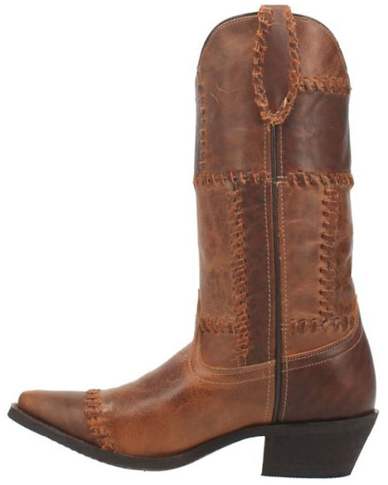 Laredo Women's Whiskey Run Western Boots - Snip Toe, Cognac, hi-res