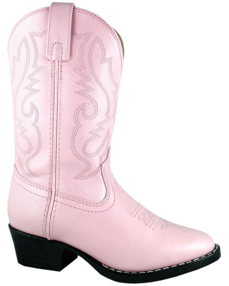 Smoky Mountain Youth Girls' Denver Western Boots - Round Toe, Pink, hi-res