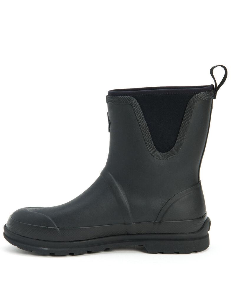 Muck Boots Men's Muck Originals Rubber Boots - Round Toe, Black, hi-res