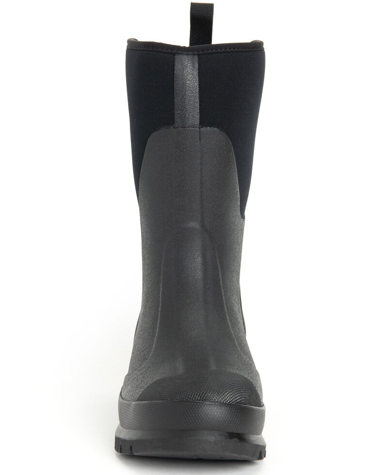 Muck Boots Women's Black Chore Rubber Boots - Round Toe, Black, hi-res
