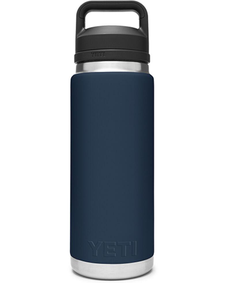 Yeti Rambler 26oz Navy Chug Bottle, Navy, hi-res