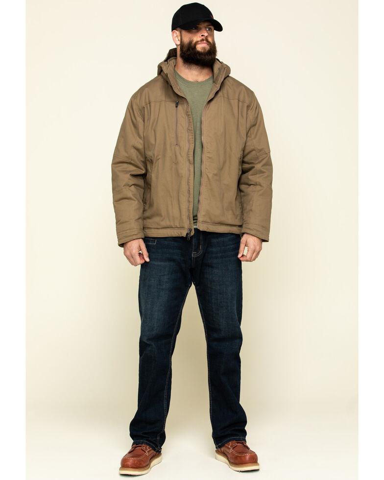 Ariat Men's Field Khaki Rebar Max Move Cordura Insulated Hooded Work Jacket - Big , Beige/khaki, hi-res