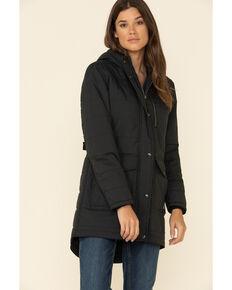 Carhartt Women's Black Utility Work Coat  , Black, hi-res