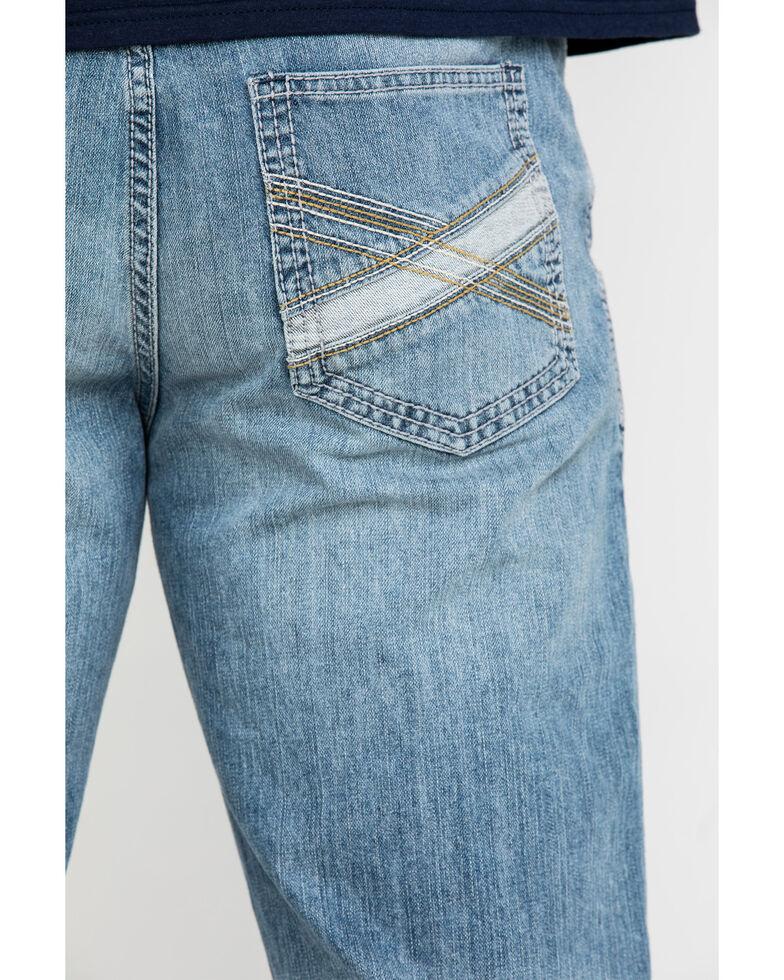 Cody James Men's Blue Shadow Light Stretch Slim Boot Jeans , Blue, hi-res