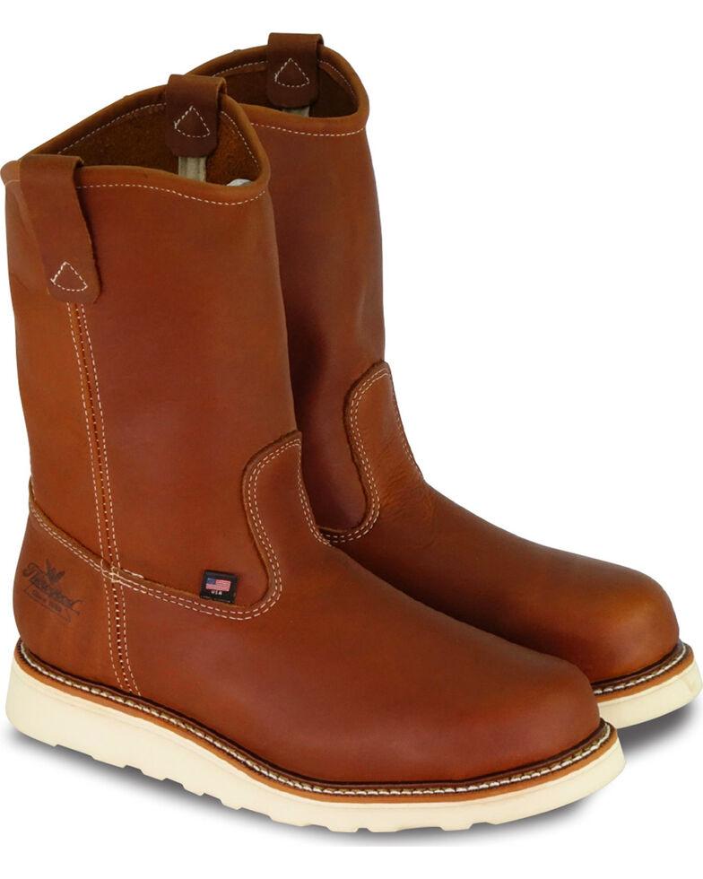 d3412131ee2 Thorogood Men's American Heritage Wedge Wellington Work Boots - Steel Toe