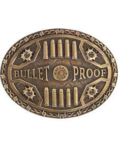 Cody James Bullet Proof Belt Buckle, Medium Brown, hi-res