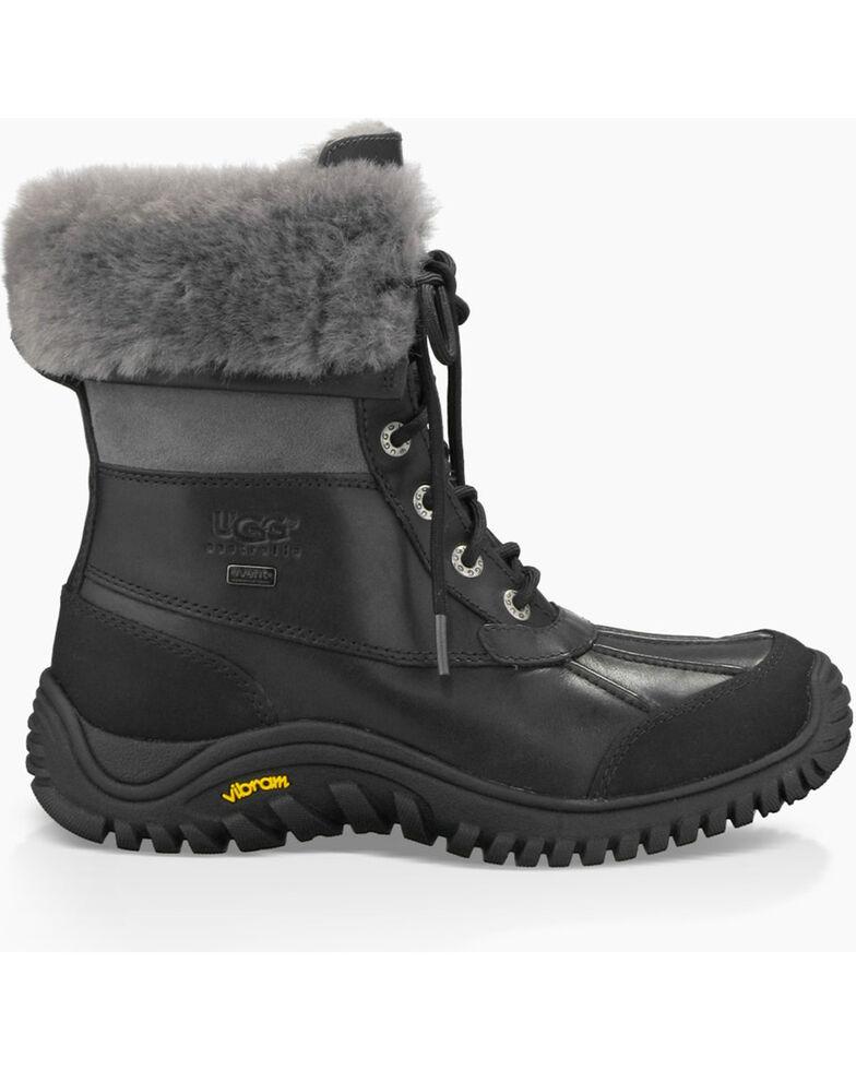 UGG Women's Black Adirondack II Winter Boots - Round Toe , Grey, hi-res