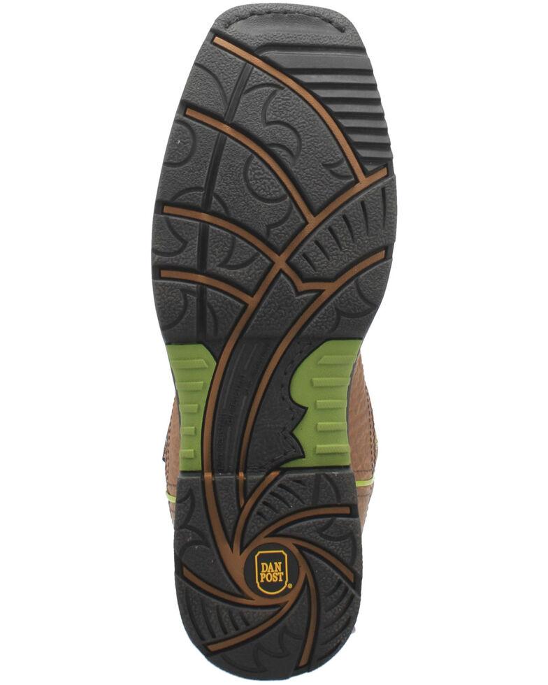 Dan Post Men's Storms Eye Waterproof EH Western Work Boots - Composite Toe , Brown, hi-res