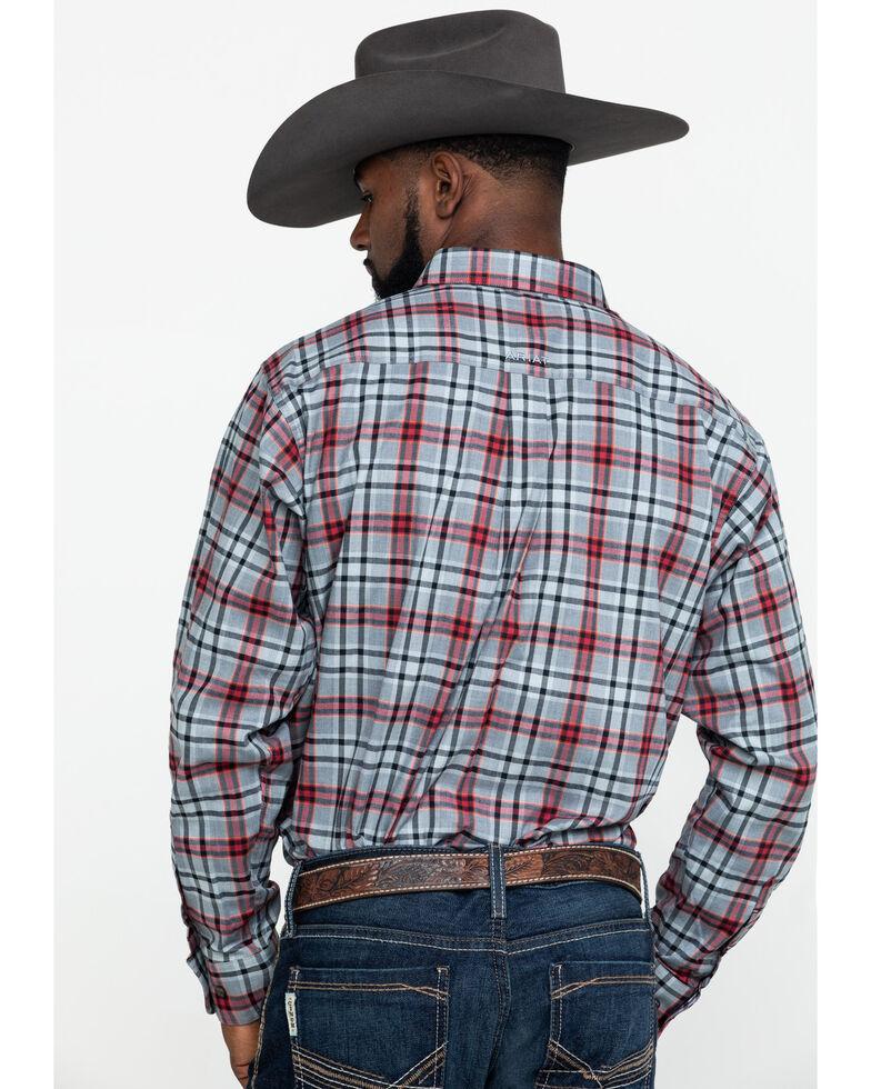 Ariat Men's Ellixon Performance Flannel Long Sleeve Western Shirt , Multi, hi-res
