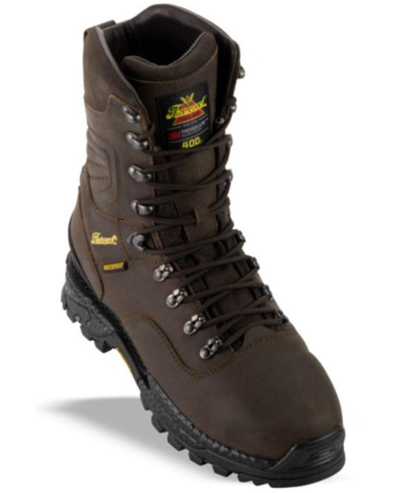 Thorogood Men's Infinity Waterproof Work Boots - Soft Toe, Brown, hi-res