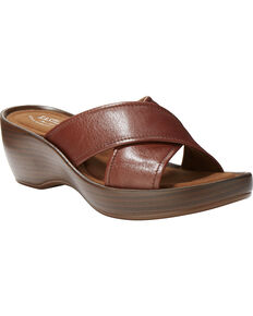 d8b0e74a28b Eastland Women s Candice Crisscross Wedge Sandal