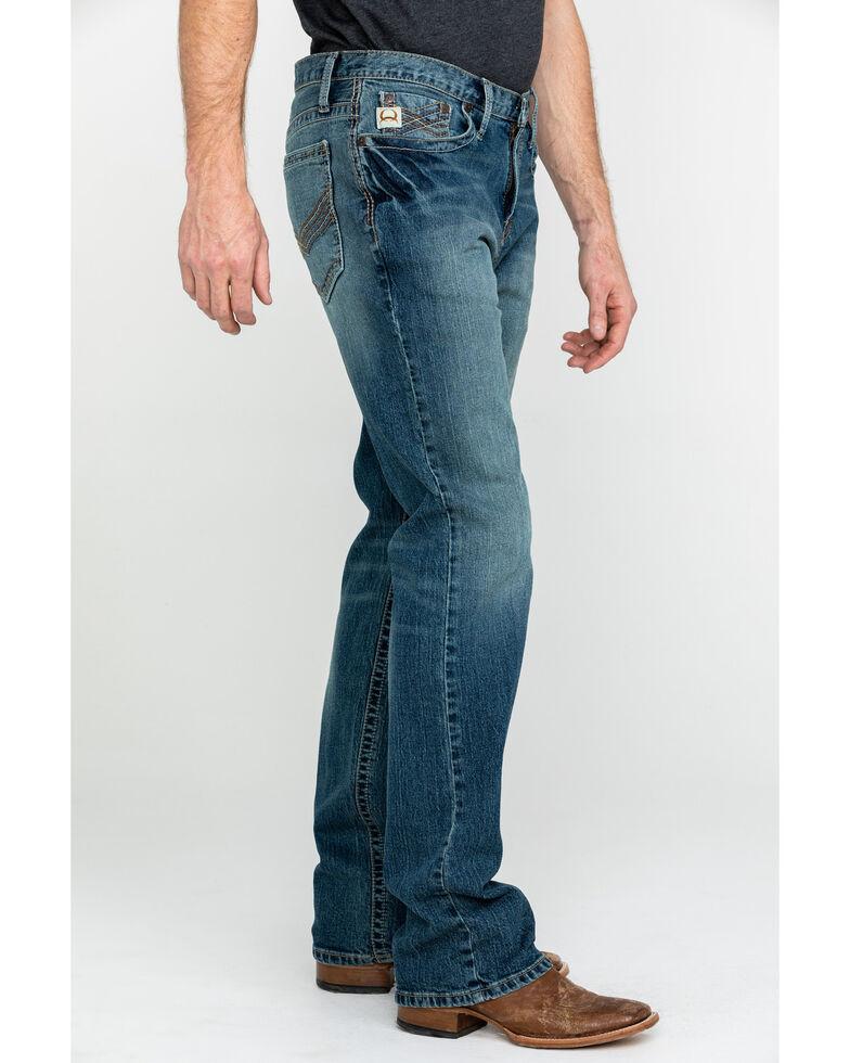 Cinch Men's Ian Medium Mid Rise Slim Boot Jeans , Indigo, hi-res