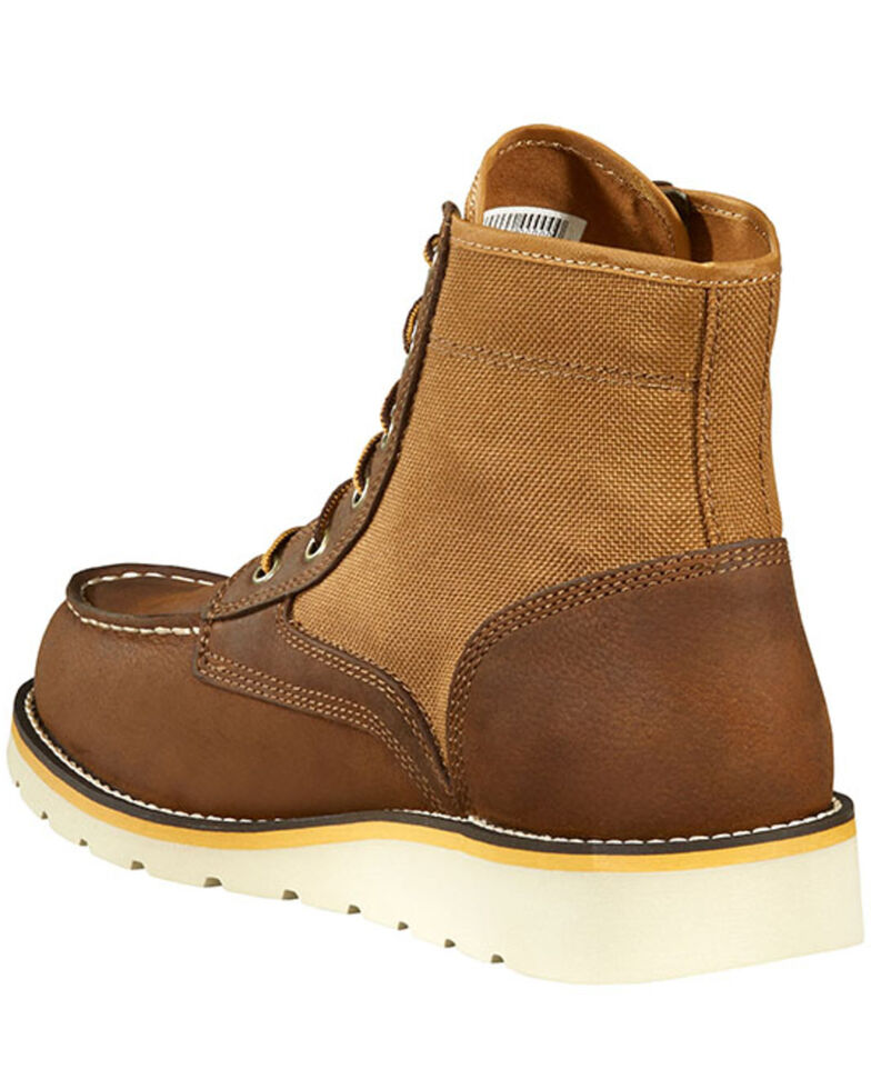 Carhartt Men's Wedge Ankle Work Boots - Soft Toe, Brown, hi-res