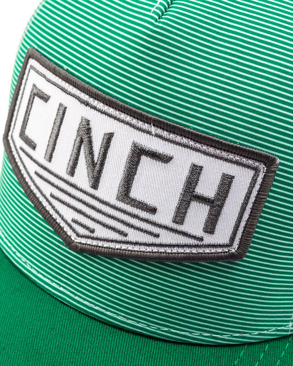 Cinch Men's Green Trucker Logo Cap, Multi, hi-res