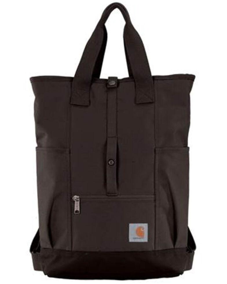 Carhartt Women's Black Hybrid Backpack, Black, hi-res