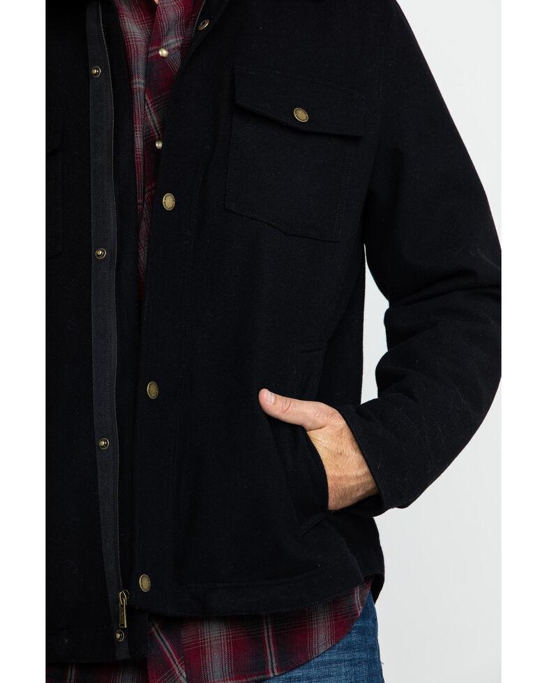 Pendleton Men's Black Solid Hood River Shirt Jacket , Black, hi-res
