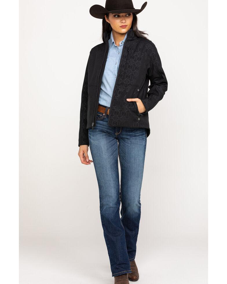 Ariat Women's R.E.A.L. Black Aztec Jacket, Black, hi-res