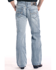 Rock & Roll Cowboy Men's Cannon Loose Light Boot Jeans , Light Blue, hi-res