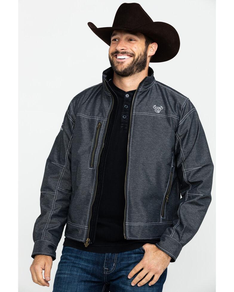 Cowboy Hardware Men's Black Tech Woodsman Jacket , Black, hi-res