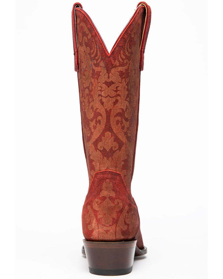 Shyanne Women's Chili Pepper Western Boots - Snip Toe, Red, hi-res