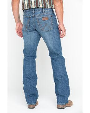 Wrangler Retro Men's Panola Long Relaxed Boot Jeans , Blue, hi-res