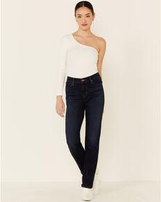 Levi's Women's Marine Haze Straight Leg Jeans, Blue, hi-res