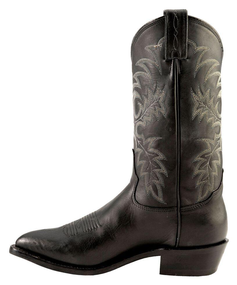 Tony Lama Americana Stallion Western Boots - Pointed Toe, Black, hi-res
