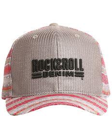 6f24fcf8914 Rock   Roll Cowboy Men s Aztec Logo Embroidered Mesh Cap