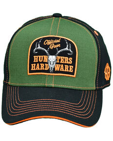 Cowboy Hardware Men's Official Gear Patch Ball Cap , Olive, hi-res