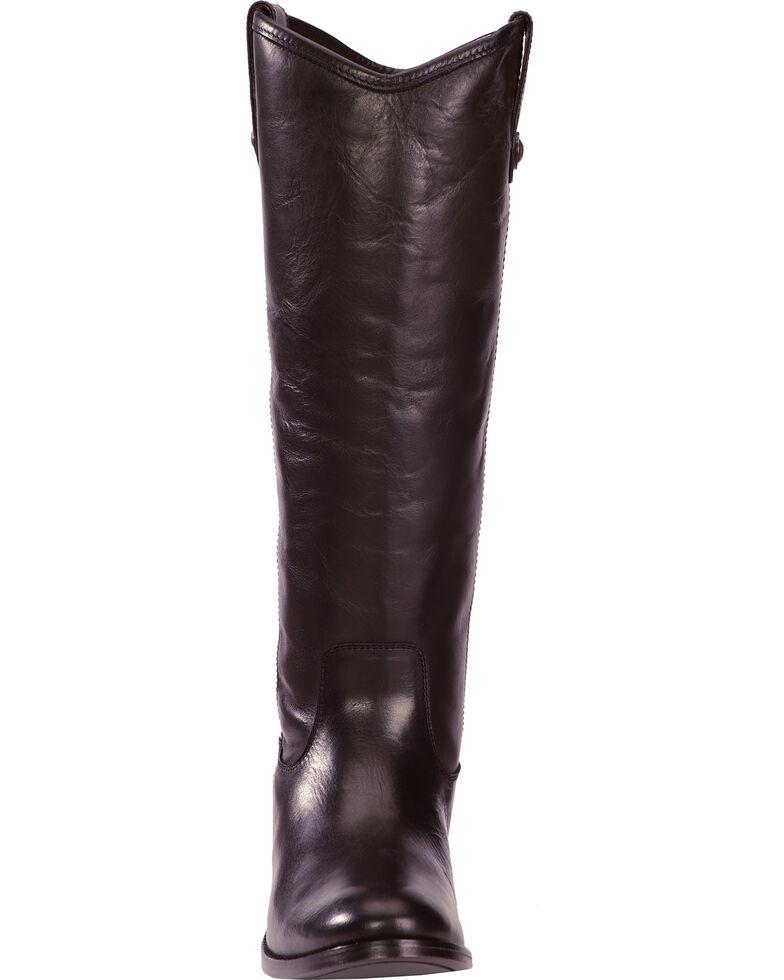 Frye Women's Melissa Button Riding Boots - Wide Calf, Black, hi-res