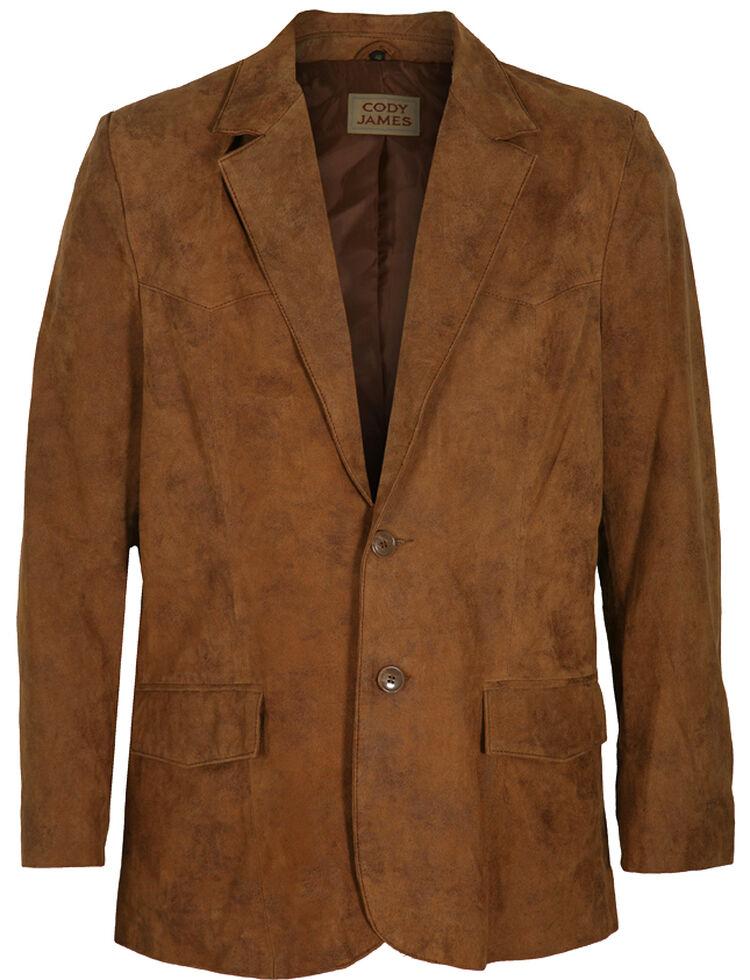 Cody James Men's Brown Blazer - Long , , hi-res
