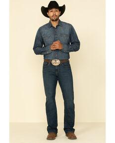 Cody James Men's Saguaro Dark Stretch Slim Bootcut Jeans , Blue, hi-res